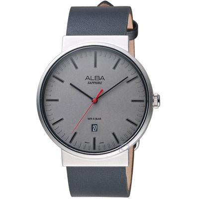 ALBA 雅柏 簡約時尚腕錶(AS9H45X1)43mm