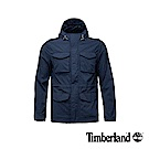 Timberland 男款深藍色全拉鍊可收納外套