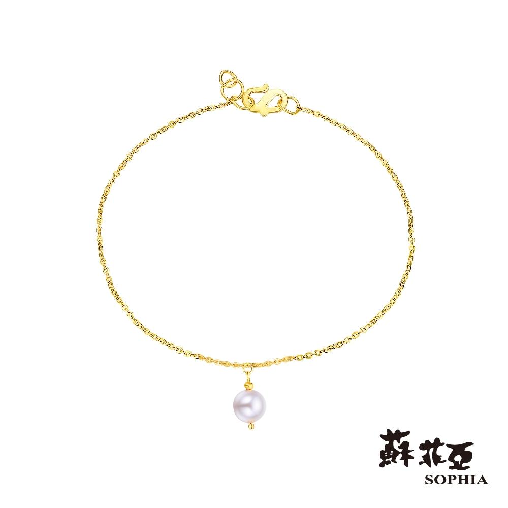 蘇菲亞SOPHIA - G LOVER系列耀動珍心黃金手鍊