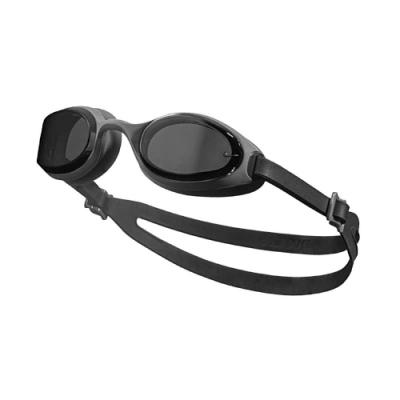 Nike 泳鏡 Hyper Flow Goggle 男女款 游泳池 蛙鏡 訓練型 成人款 黑 灰 NESSA182014