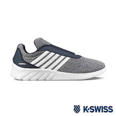 K-SWISS Aeronaut Slip-On休閒運動鞋-男-灰/藍