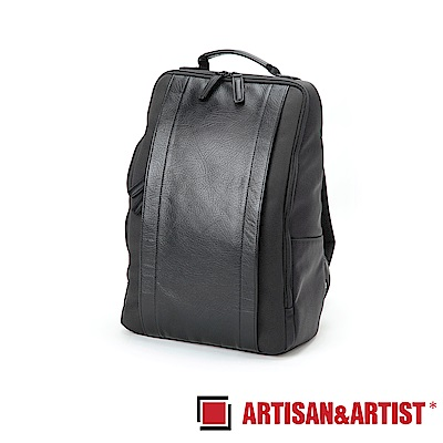 ARTISAN & ARTIST 皮革雙肩相機背包 RR4-06C(黑)