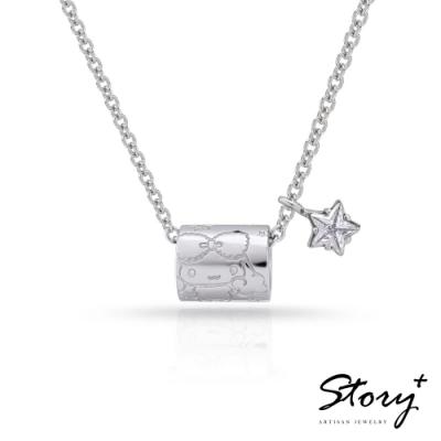 STORY故事銀飾-幸福喜拿系列-幸福環繞 純銀項鍊