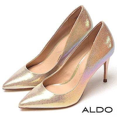 ALDO 霓光乍現原色優雅流線鞋身尖頭細高跟鞋~優雅霓光