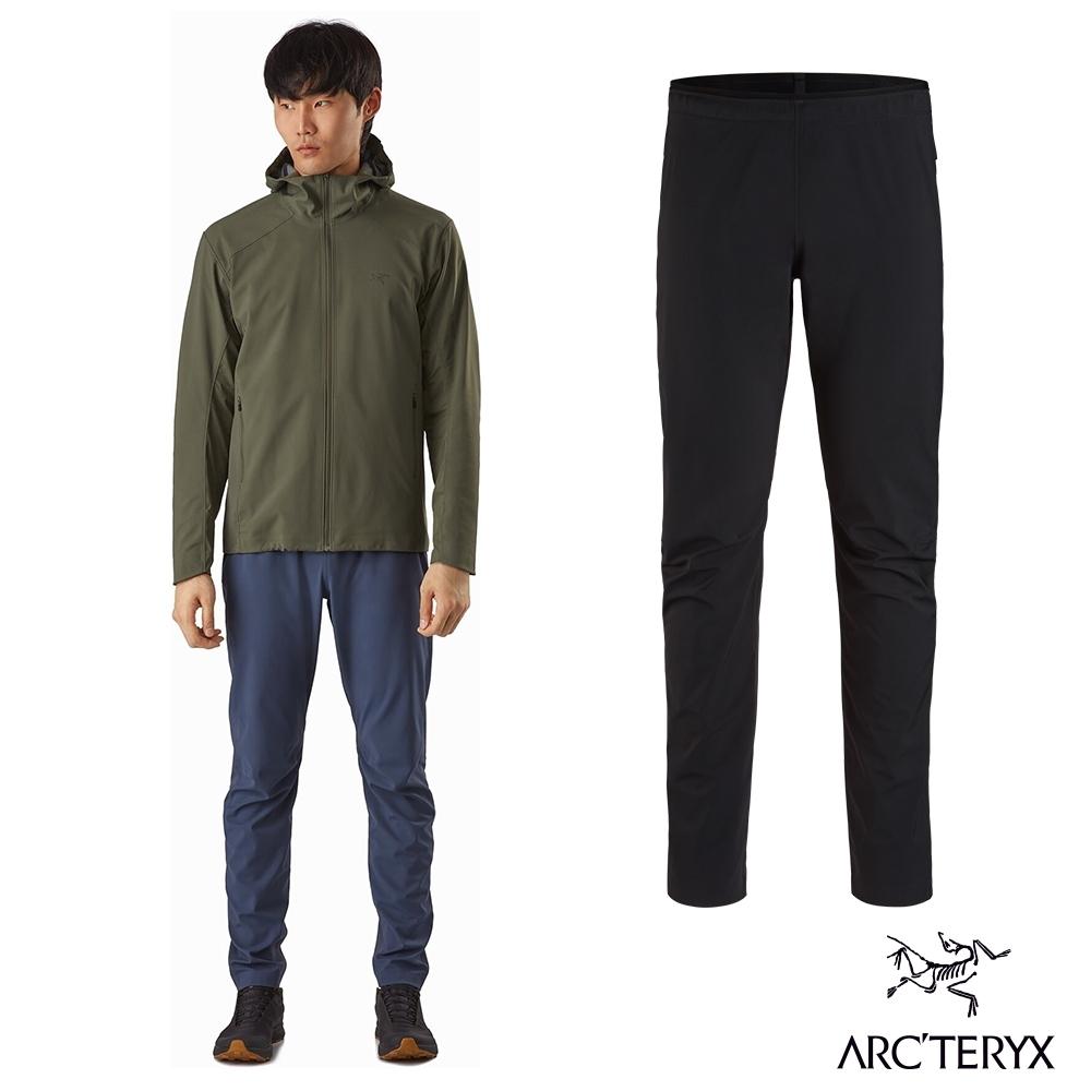 Arcteryx 始祖鳥 男 Trino SL 輕量防風 軟殼長褲 黑