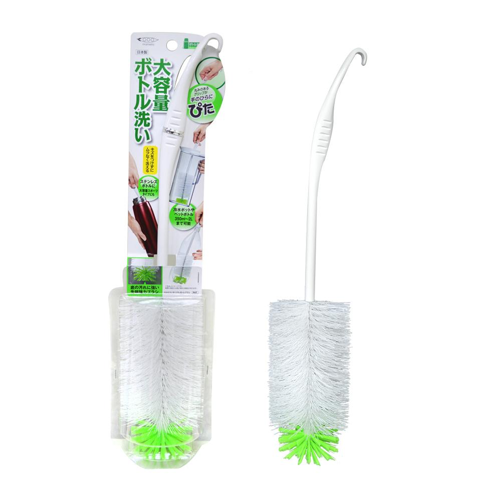 日本製MAMEITA寬口洗瓶刷 寬瓶口 水壺 水瓶刷 寬口刷 KB-816