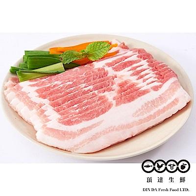 任-【頂達生鮮】台灣豬五花肉片(400g/盒)
