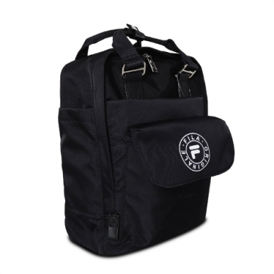 Fila 後背包 Original Logo Backpack 斐樂 基本款 上學 外出 穿搭 筆電夾層 黑 白 BPV3002BK