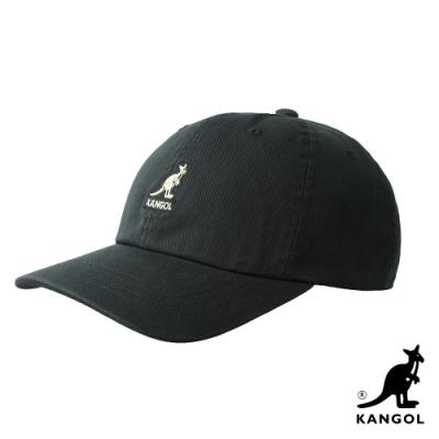 KANGOL-經典老帽-黑色