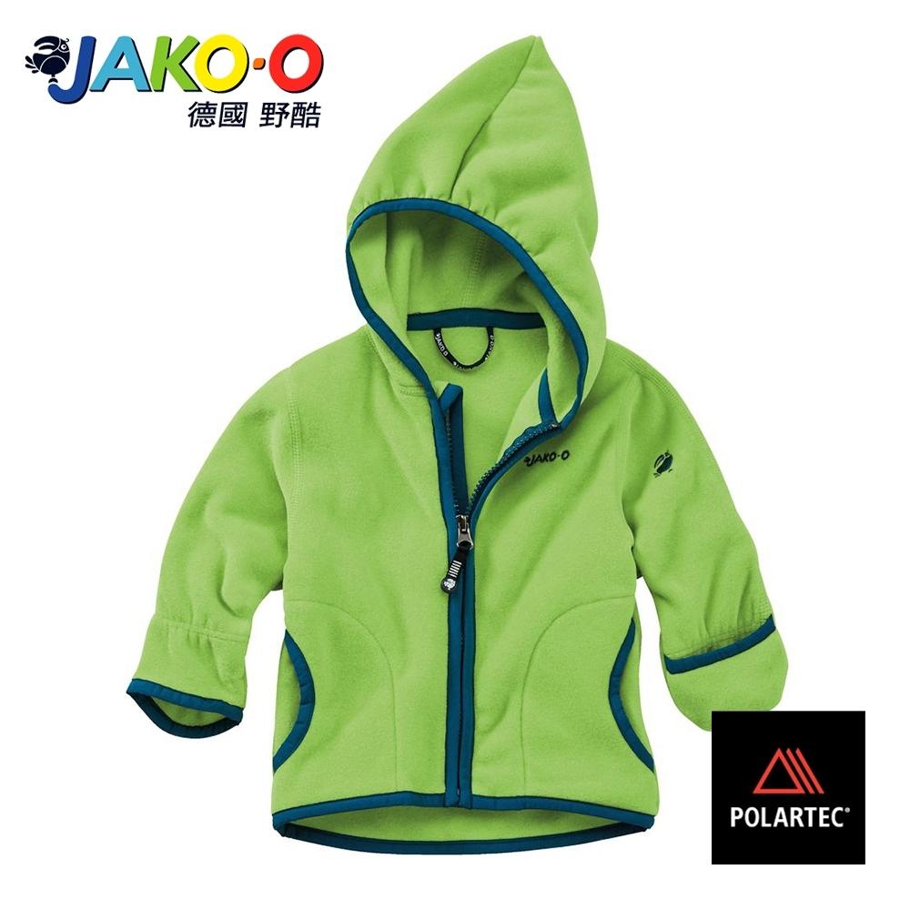 JAKO-O德國野酷-POLARTEC護手保暖連帽外套-青草綠  兒童雪衣