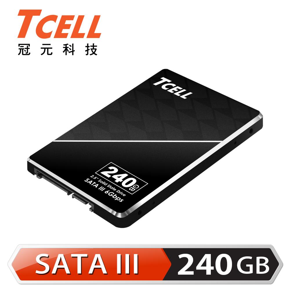 TCELL 冠元- TT550 240GB 2.5吋 SATAIII SSD固態硬碟