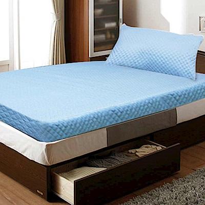 Gloria  高週波+防潑水 5cm竹炭記憶床墊 雙人送防潑水枕頭墊