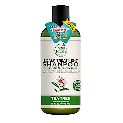 美國沛特斯 有機成份茶樹控油洗髮精(無矽靈-16oz/475ml)