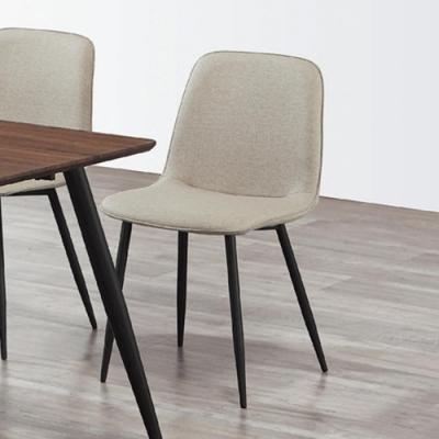 Boden-丹尼皮面餐椅/單椅(四入組合)-45x40x85cm