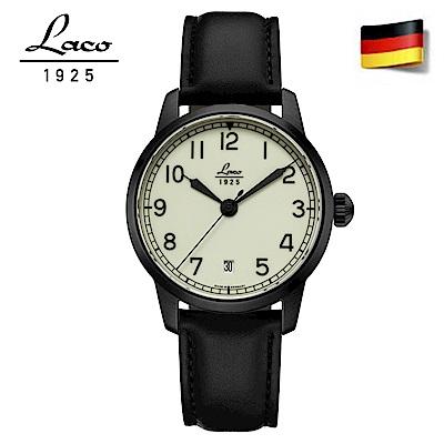 Laco 朗坤861804 夜光海洋機械腕錶 白 36mm