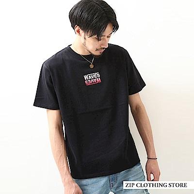 氣流紡印花短袖T恤(18色) ZIP日本男裝