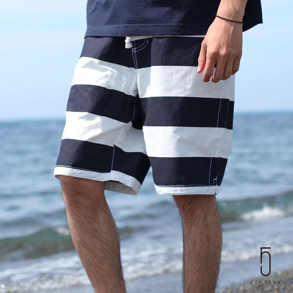 夏季兩用短褲 附收納袋(20色) ZIP日本男裝