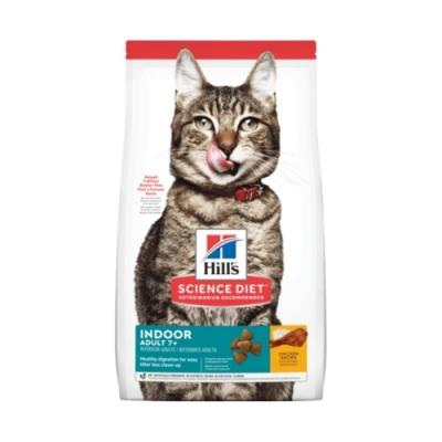 Hill′s希爾思-室內成貓7歲以上-雞肉特調食譜 15.5lb.7.03kg (8874)