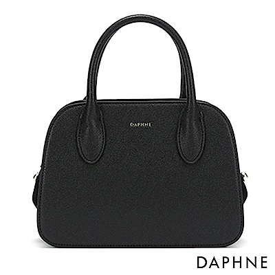 達芙妮DAPHNE-優雅串珠多用包休閒手提單肩包-黑