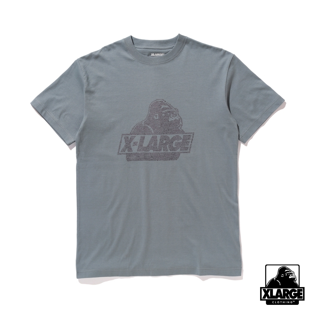 XLARGE S/S TEE NUMBER OLD O 短袖T恤-灰