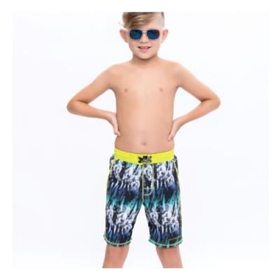 澳洲Sunseeker泳裝抗UV防曬海灘褲泳褲-大男童-幾何黃4182022LIM