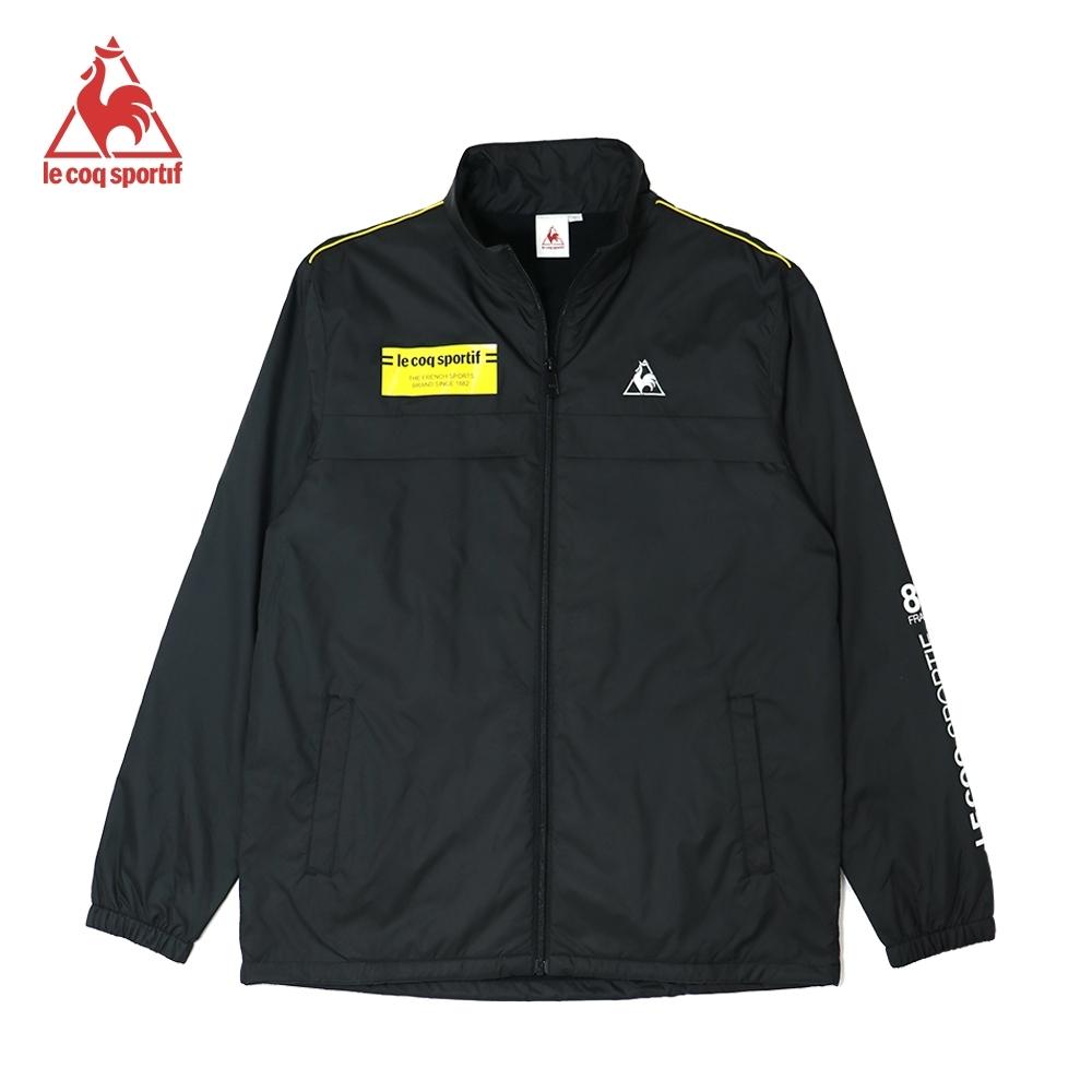 法國公雞牌厚防風外套 LOK6190199-男-黑