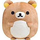 拉拉熊歡樂時光系列丸子QQ超大公仔。懶熊 San-X
