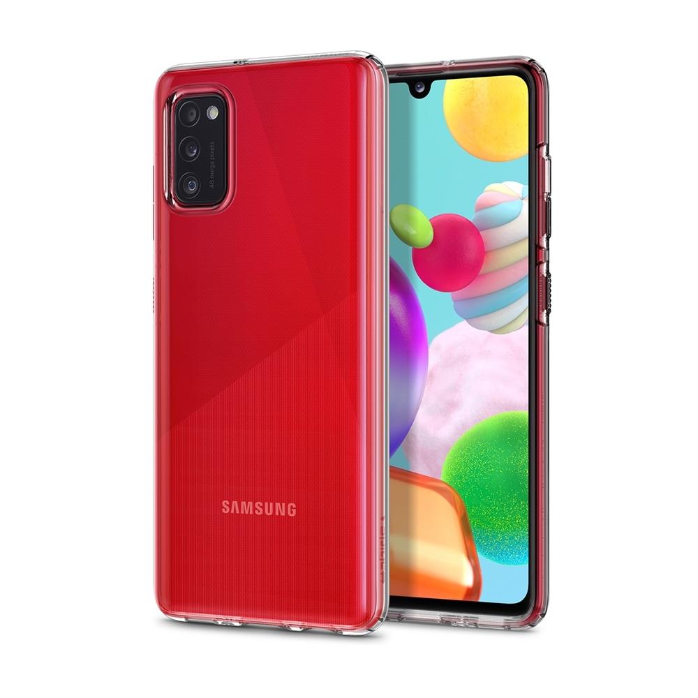 SGP / Spigen Galaxy A41 Liquid Crystal-手機保護殼(晶透)