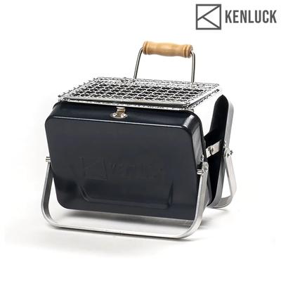 【KENLUCK】迷你攜帶型烤肉架 Mini Grill 深藍