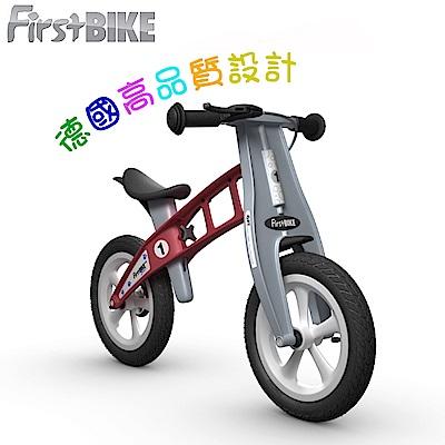 FirstBIKE德國高品質設計STREET街頭版兒童滑步車/學步車-火箭紅