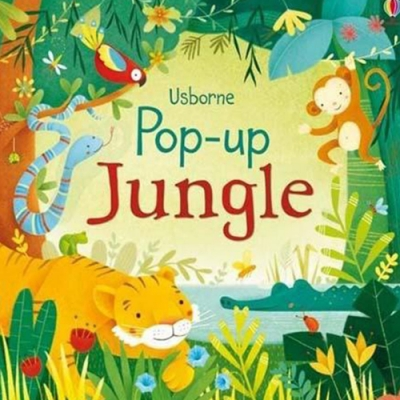 Pop-Up Jungle 叢林動物精裝立體書