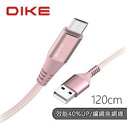 DIKE 超強韌耐磨快充線Micro USB DLM312