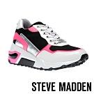 STEVE MADDEN-CHROME時尚炫彩亮色老爹鞋-特殊紋白色
