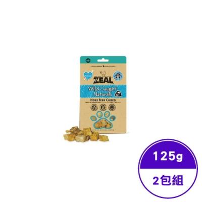 ZEAL真致天然風乾零食-紐西蘭鱈魚塊125g (ZE-AD-0165)(2包入)