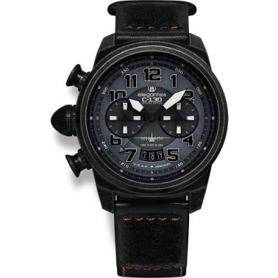 elegantsis C130 美利堅合眾國空軍軍事運輸機美軍版限量計時套錶-48mm