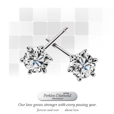 PERKINS 伯金仕 - GIA Classic系列 總重0.60克拉 鑽石耳環