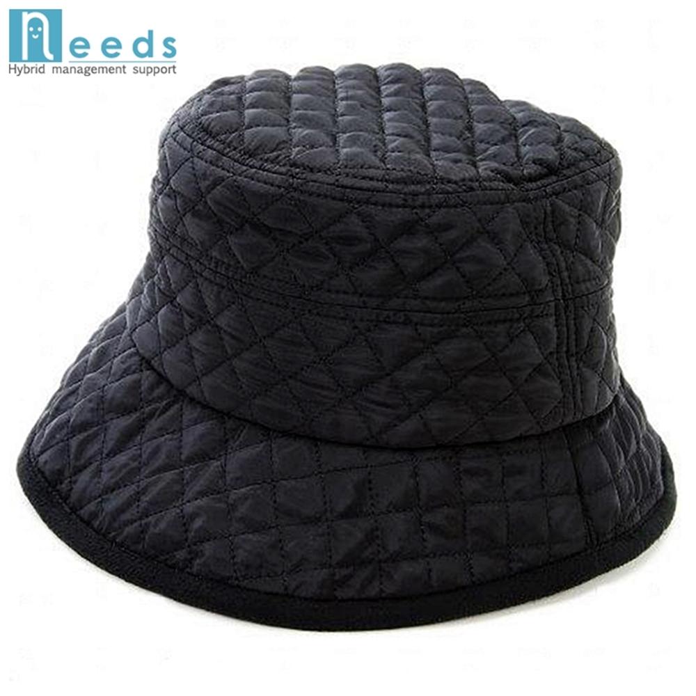 日本NEEDS兩面t吸濕發熱刷毛小臉帽(#683982黑/黑#683999黑/灰)