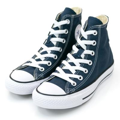 CONVERSE ALL STAR 男女款 高筒帆布鞋-靛 M9622C