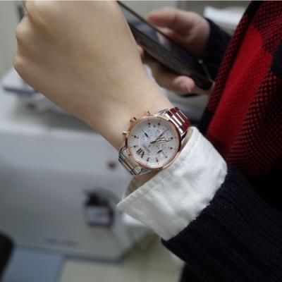 SEIKO LUKIA 繽紛太陽能計時女錶(SSC824J1)36mm