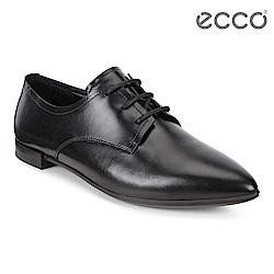 ECCO SHAPE POINTY BALLERINA 復古平底正裝鞋 女 黑