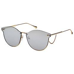 VEDI VERO 水銀面 太陽眼鏡 (金色)GRY