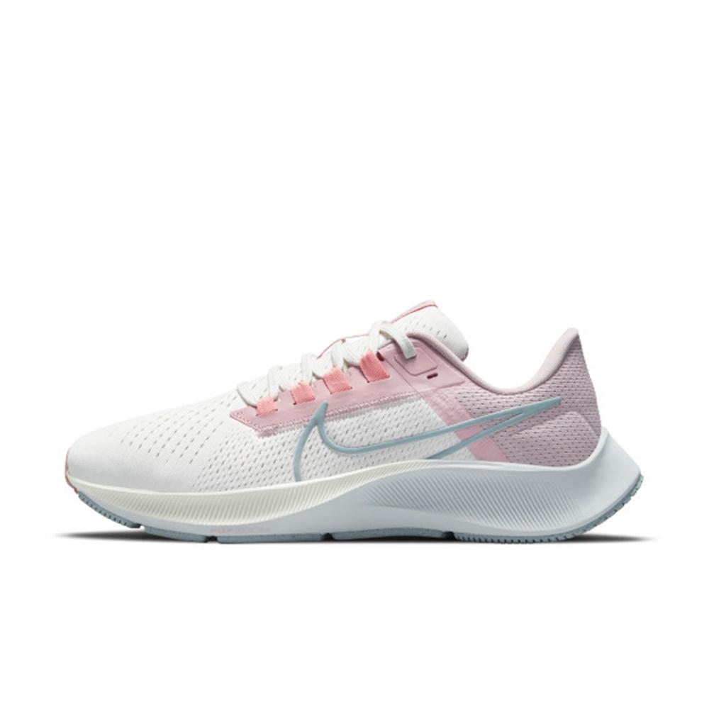 NIKE AIR ZOOM PEGASUS 38 女慢跑鞋-白粉-CW7358103