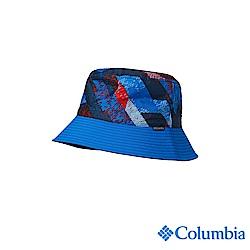 Columbia 哥倫比亞 兒童-UPF50兩面遮陽帽-藍色UCY00750BL
