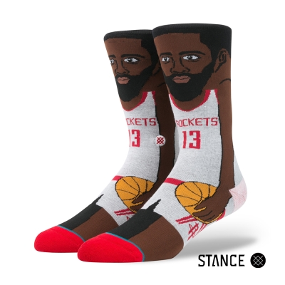 STANCE J. HARDEN-男襪-NBA卡通襪