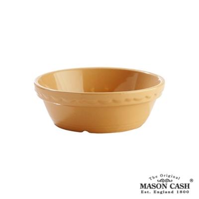 MASON 浮雕陶瓷烤派盤14CM(黃)