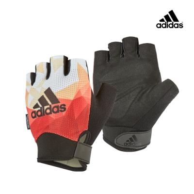 Adidas Training專業女用透氣防滑手套(煥彩橙)