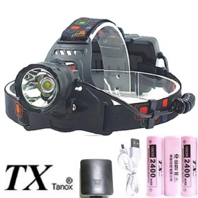 TX特林XP50 LED強亮USB充電頭燈(HD-A1P50)