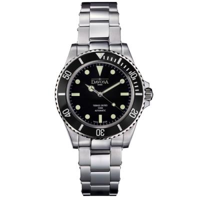 DAVOSA 161.525.50 TERNOS SIXTIES 60 年代復刻專業潛水自動錶/黑水鬼/鋼帶/40mm