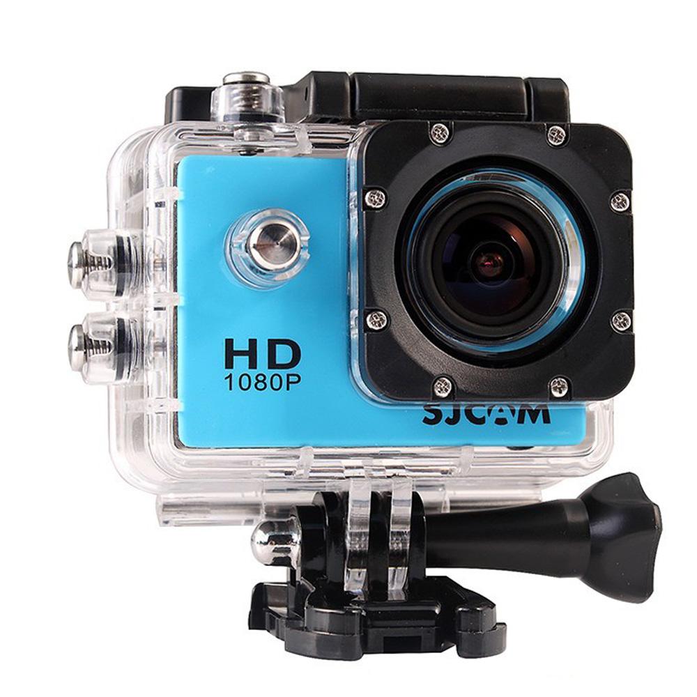[超值原廠雙電組] SJCAM SJ4000 AV 防水型運動攝影機 1080P高畫質 公司貨)