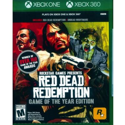 碧血狂殺年度紀念特別版 RED DEAD REDEMPTION-XBOX ONE 英文美版
